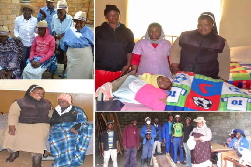 In Lesotho, Sr. Theresia serves at the Saint Marguerite D'Youville Old Age Home. She says the skills she gained from ASEC's SLDI program have given her the skills she needs to effectively manage the home.