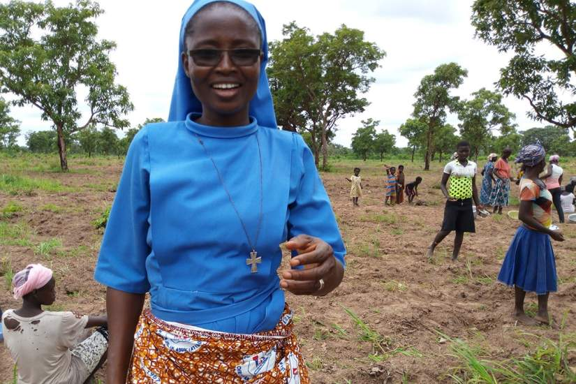 The presence of Sr. Stephany Ayomah, Sisters of Mary Immaculate (SMI), is vital to the rural community of Ordorme, Nanumba North district, Ghana.