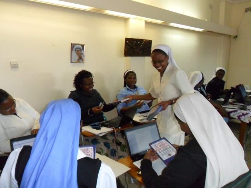 Trainings and workshops added for sisters in Lesotho