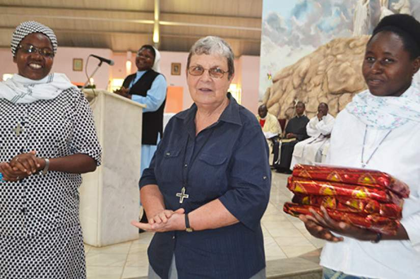 The Missionary Sisters of Our Lady of Africa (MSOLA) leave Zambia