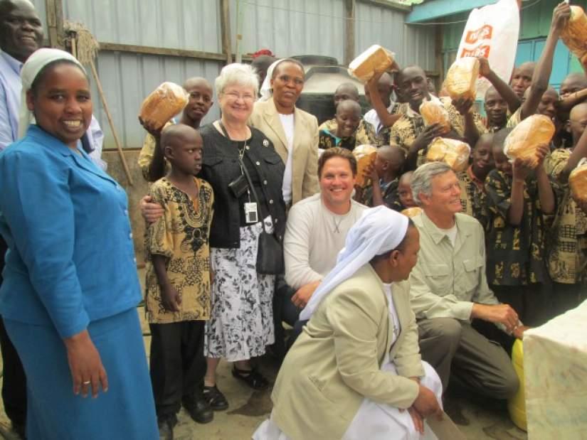 Conrad N. Hilton Foundation Delegates Visit to Africa