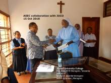 MOU African Sisters Education Collaborative (ASEC) / Jordan University College (JUCO)