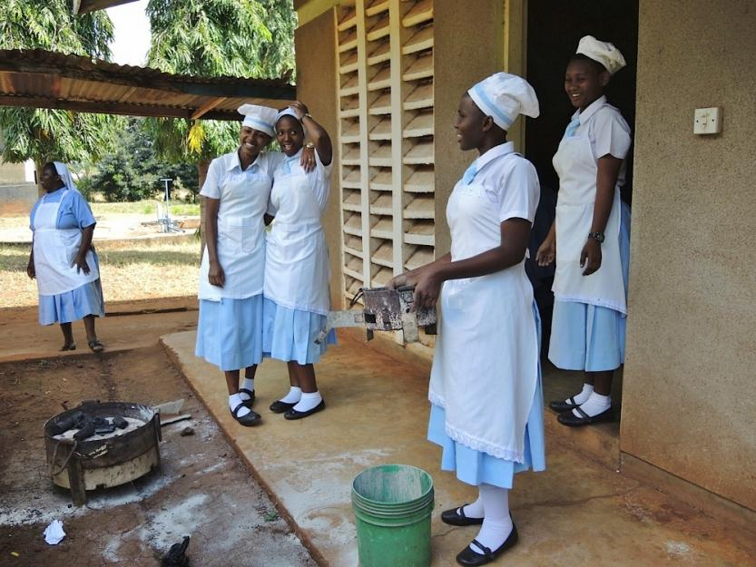 Dormitory expansion in Tanzania is slow but keeps girls in school