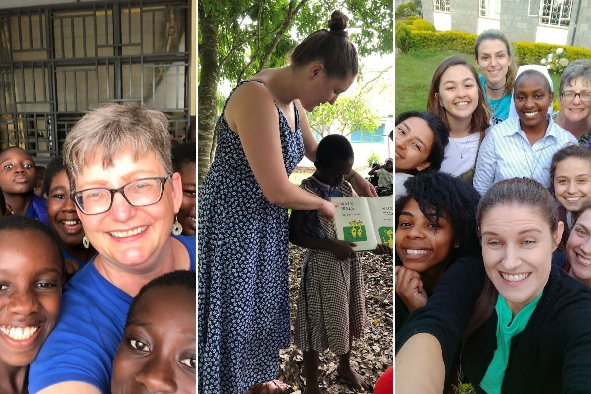 ASEC Service trip photos from Kenya (2017) and Ghana (2019).