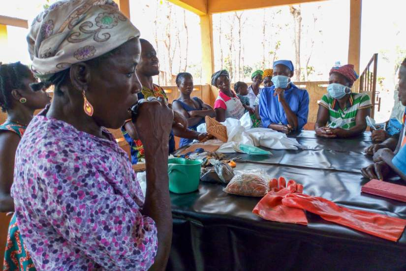 Projects like Sr. Stephany's women's group and Sr. Justina's sewing center empower women with the skills they need to make a living and break the cycle of poverty.