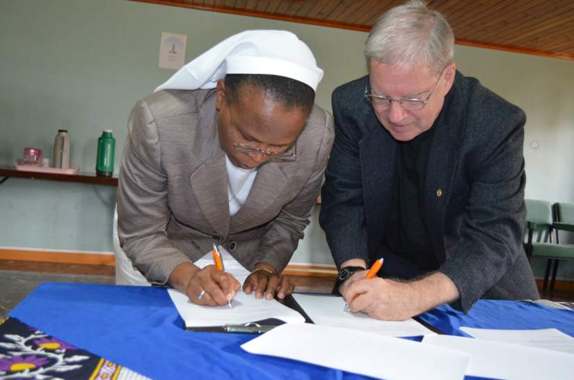 Signing of Framework of Reference with Tangaza University College