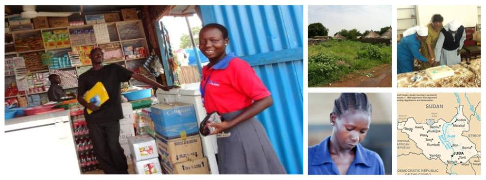 Sisters impact in South Sudan