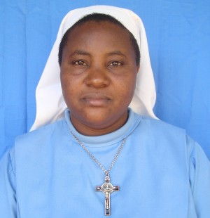 SR. WINFRIDA L. CHIUNGA. VIRGIN MARY THE HELP OF CHRISTIANS-NDANDA. (Age. 40 yrs)