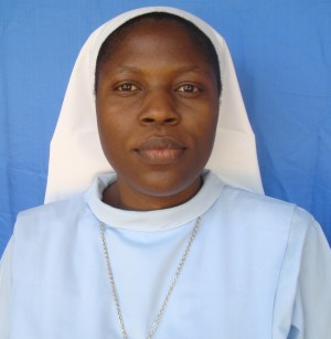SR. EDINA AMLIMA O.S.B.  VIRGIN MARY THE HELP OF CHRISTIANS-NDANDA. (Age 32 yrs)