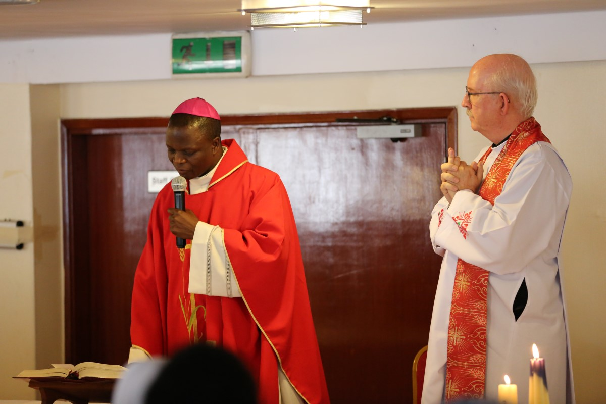 Bishop Maurice Muhatia, Nakuru Diocese and Chair, Commission of Catholic Education, Kenya - graced the Catholic Sisters Champions of Sustainable Development convening with mass.