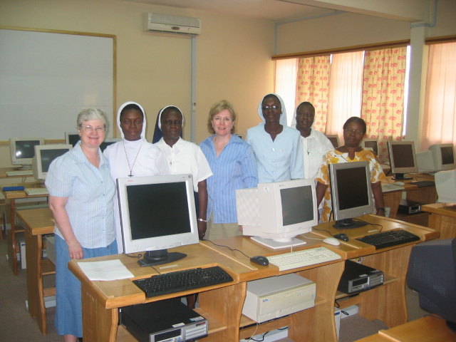 First ASEC training / site visit in Cape Coast, Ghana (2005)